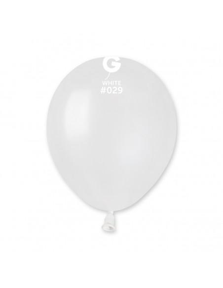 Gemar Metallic 13cm - 5 inch - White No.029 - AM50 - 100 pz
