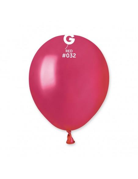 Gemar Metallic 13cm - 5 inch - Red No.032 - AM50 - 100 pz