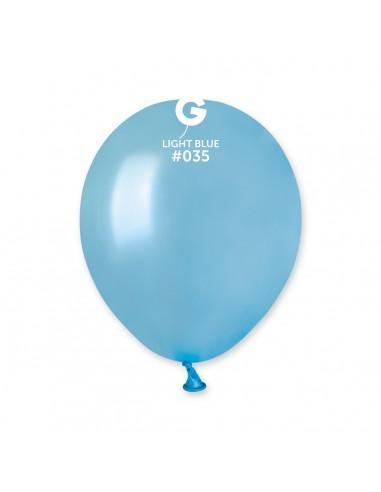 Gemar Metallic 13cm - 5 inch - Light Blue No.035 - AM50 - 100 pz