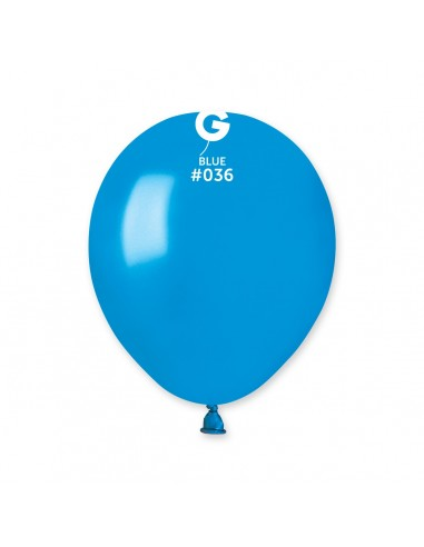 Gemar Metallic 13cm - 5 inch - Blue No.036 - AM50 - 100 pz