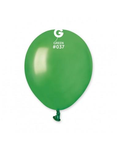 Gemar Metallic 13cm - 5 inch - Green No.037 - AM50 - 100 pz