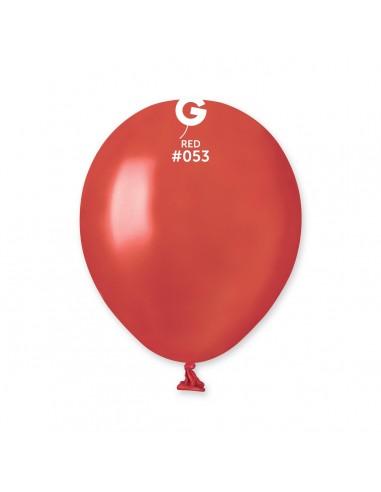 Gemar Metallic 13cm - 5 inch - Red No.053 - AM50 - 100 pz
