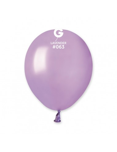 Gemar Metallic 13cm - 5 inch - Lavender No.063 - AM50 - 100 pz