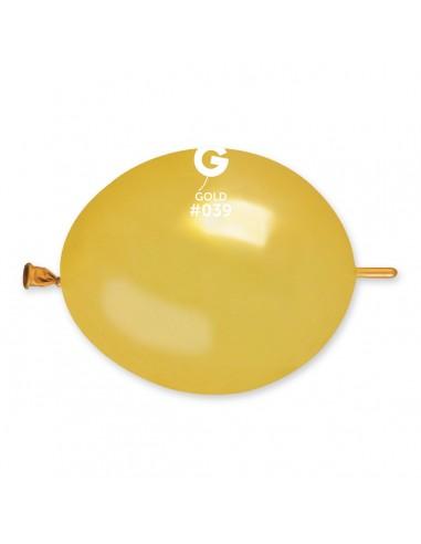 Gemar Metallic 16cm - 6 inch - Gold No.039 - GLM6 - 100 pz