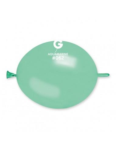 Gemar Metallic 16cm - 6 inch - Aquamarine No.062 - GLM6 - 100 pz