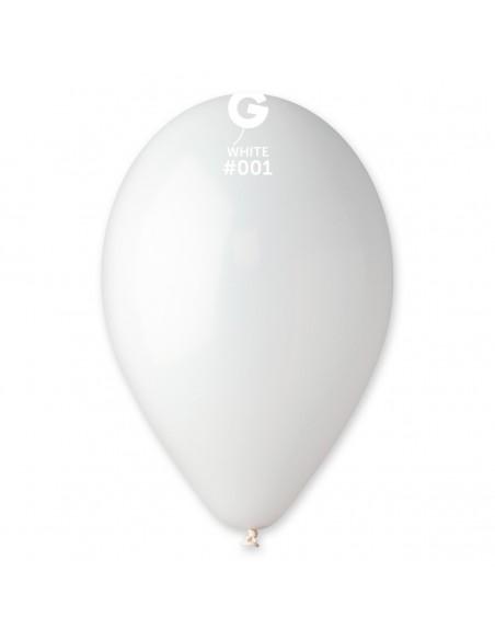 Gemar Standard 26cm - 10 inch - White No.001 - G90 - 100 pz