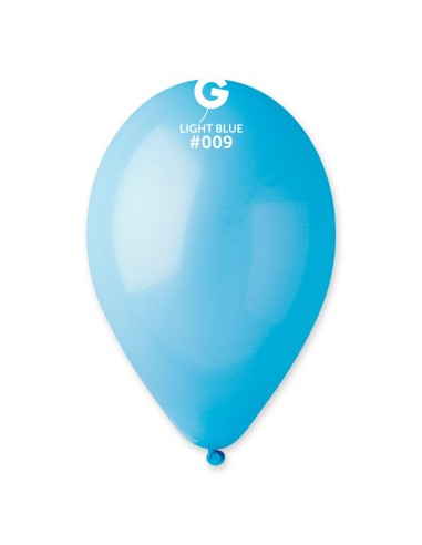 Gemar Standard 30cm - 12 inch - Light Blue No.009 - G110 - 100 pz