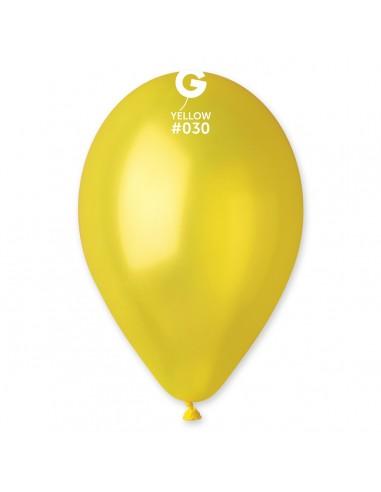 Gemar Metallic 30cm - 12 inch - Yellow No.030 - GM120 - 100 pz