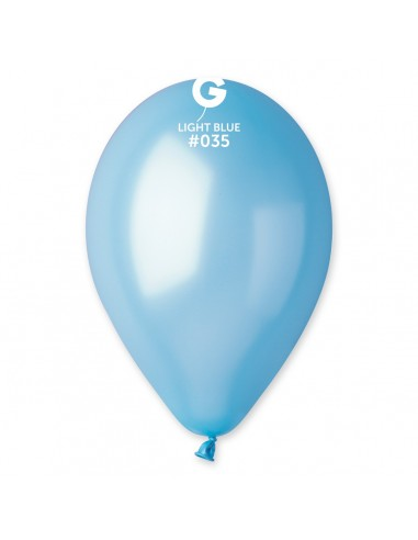 Gemar Metallic 30cm - 12 inch - Light Blue No.035 - GM120 - 100 pz