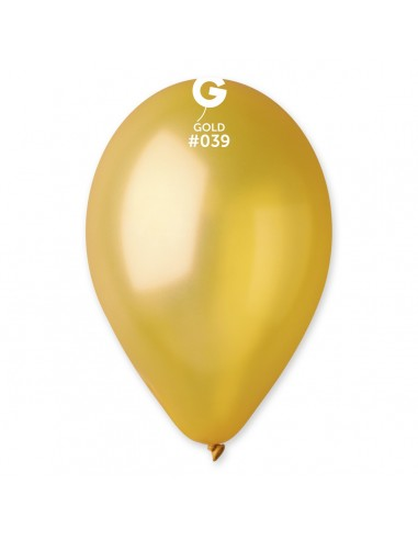 Gemar Metallic 30cm - 12 inch - Gold No.039 - GM120 - 100 pz