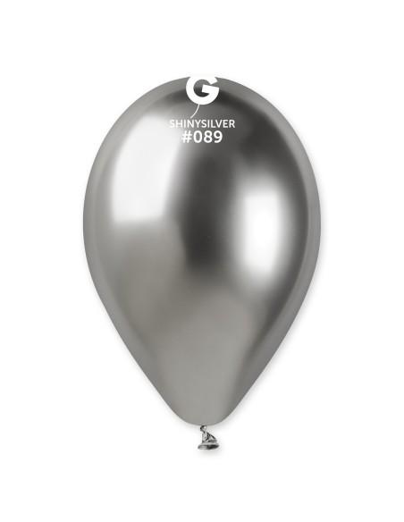 Gemar Shiny 33cm - 13 inch - Shiny Silver No.089 - GB120 - 50 pz