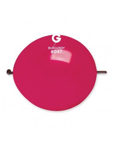 Gemar Standard 33cm - 13 inch - Burgundy No.047 - GL13 - 100 pz
