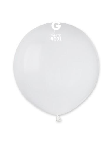 Gemar Standard 48cm - 19 inch - White No.001 - G150 - 50 pz