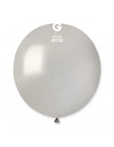Gemar Metallic 48cm - 19 inch - Silver No.038 - GM150 - 50 pz