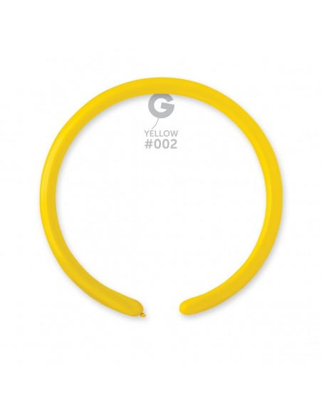 Gemar Standard 2.5x150cm - 1x60 inch - Yellow No.002 - D2 - 100 pz