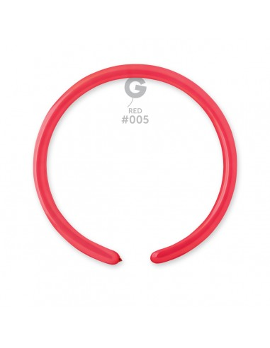 Gemar Standard 2.5x150cm - 1x60 inch - Red No.005 - D2 - 100 pz