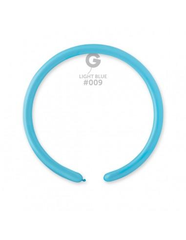 Gemar Standard 2.5x150cm - 1x60 inch - Light Blue No.009 - D2 - 100 pz