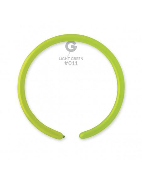 Gemar Standard 2.5x150cm - 1x60 inch - Light Green No.011 - D2 - 100 pz