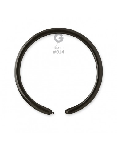 Gemar Standard 2.5x150cm - 1x60 inch - Black No.014 - D2 - 100 pz
