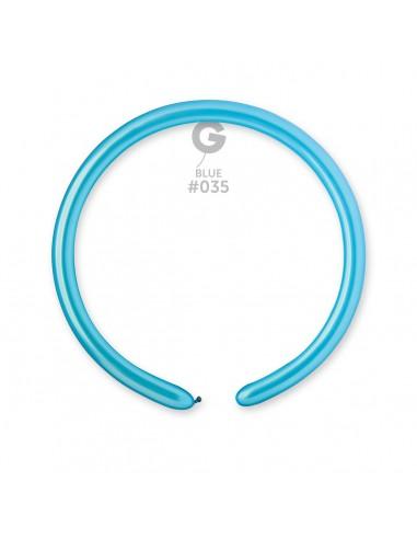 Gemar Metallic 2.5x150cm - 1x60 inch - Light Blue No.035 - DM2 - 100 pz