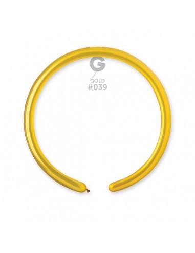 Gemar Metallic 2.5x150cm - 1x60 inch - Gold No.039 - DM2 - 100 pz