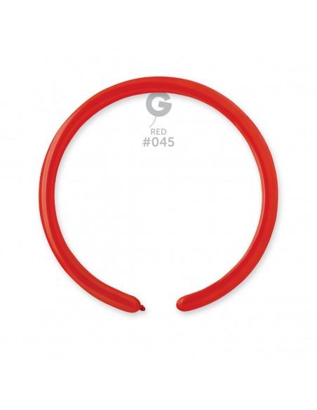 Gemar Standard 2.5x150cm - 1x60 inch - Red No.045 - D2 - 100 pz