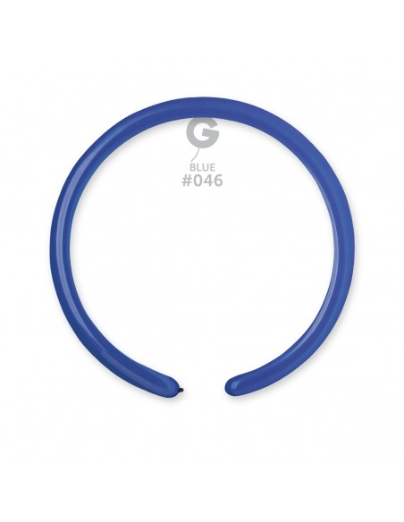 Gemar Standard 2.5x150cm - 1x60 inch - Blue No.046 - D2 - 100 pz