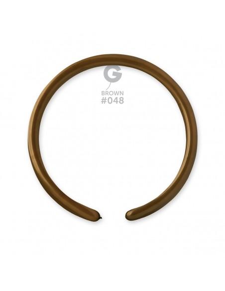 Gemar Standard 2.5x150cm - 1x60 inch - Brown No.048 - D2 - 100 pz