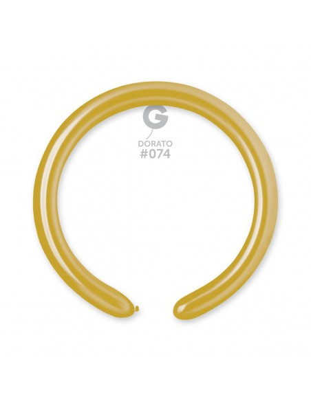 Gemar Metallic 5x150cm - 2x60 inch - Dorato No.074 - DM4 - 100 pz