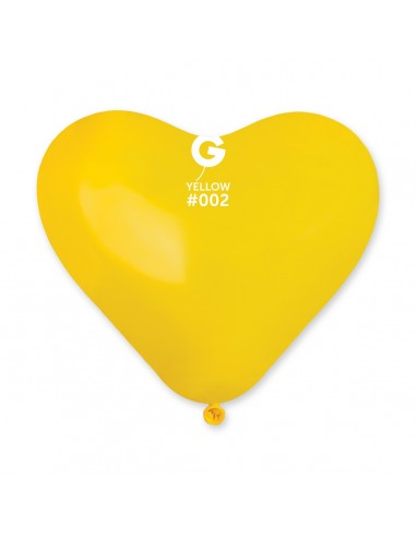 Gemar Standard 25cm - 10 inch - Yellow No.002 - CR - 100 pz