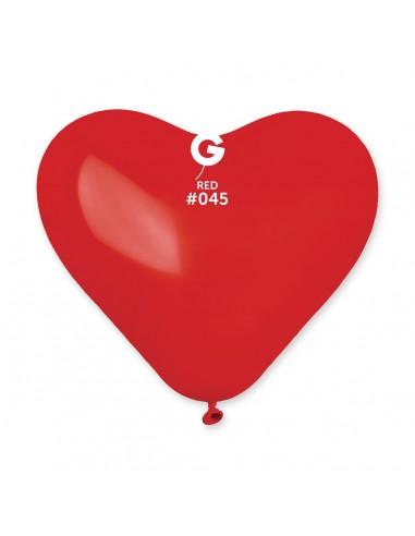 Gemar Standard 25cm - 10 inch - Red No.045 - CR - 100 pz