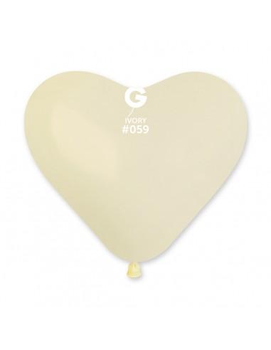 Gemar Standard 25cm - 10 inch - Ivory No.059 - CR - 100 pz