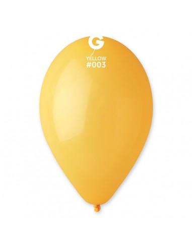 Gemar Standard 26cm - 10 inch - Yellow No.003 - G90 - 100 pz