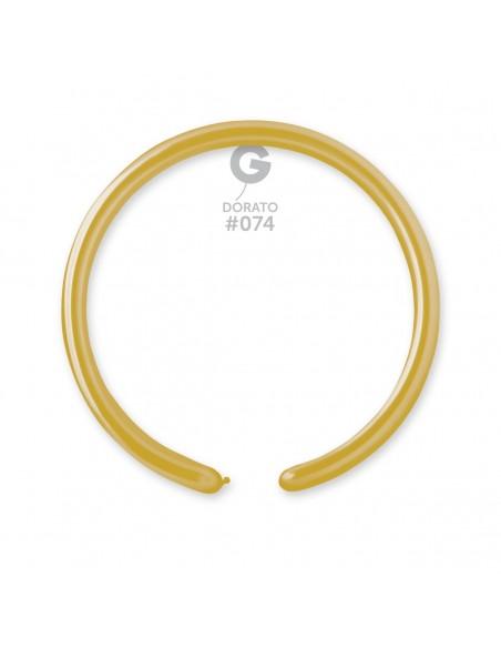 Gemar Metallic 2.5x150cm - 1x60 inch - Dorato No.074 - DM2 - 100 pz